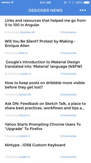the news 2 ob dnu novini z hacker news designer news product hunt 3 - The News 2 об'єднує новини з Hacker News, Designer News і Product Hunt